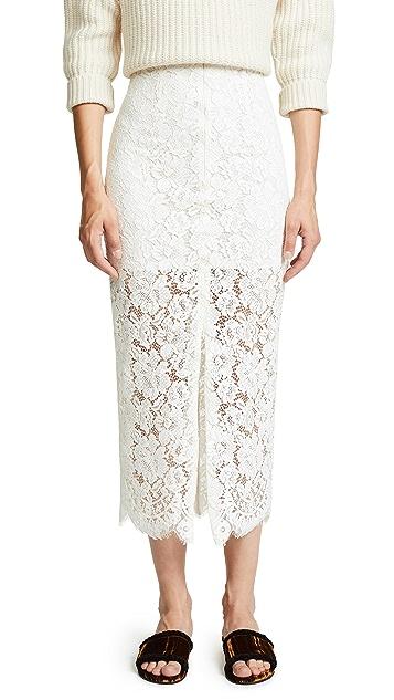 Ganni Jerome Lace Skirt