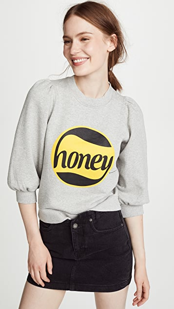 Ganni Honey Sweatshirt
