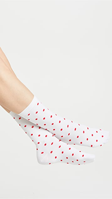 Ganni Classon Dots Socks