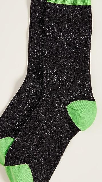Ganni Classon Rib Socks