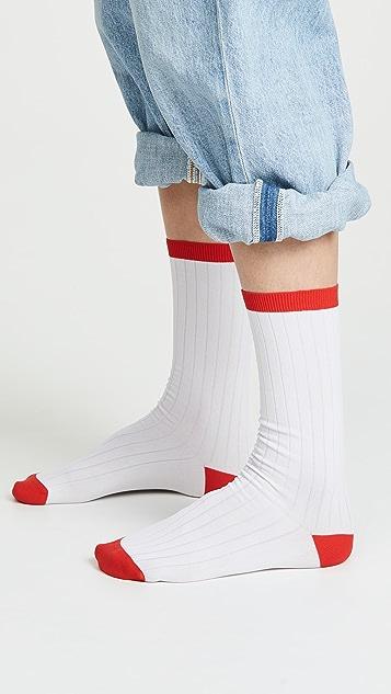 GANNI Classic Rib Socks