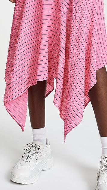 GANNI Seersucker Skirt