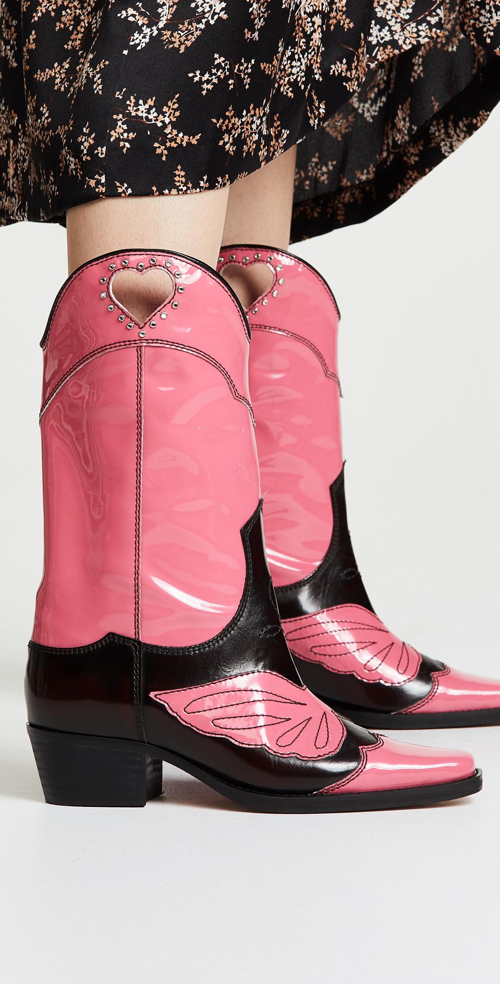 GANNI Marlyn Boots | SHOPBOP | Black