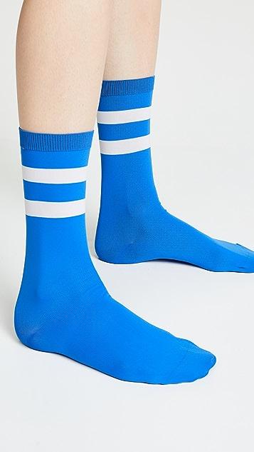 GANNI Classon Stripe Socks