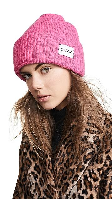 GANNI Hatley Knit Hat