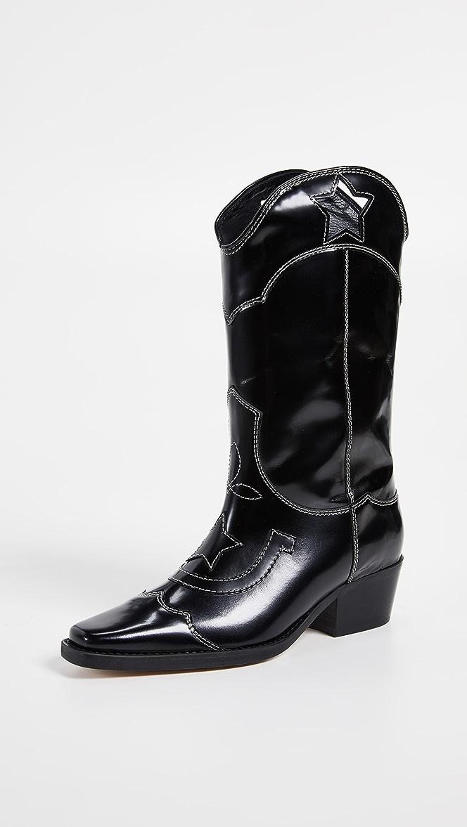 GANNI High Texas Boots   SHOPBOP