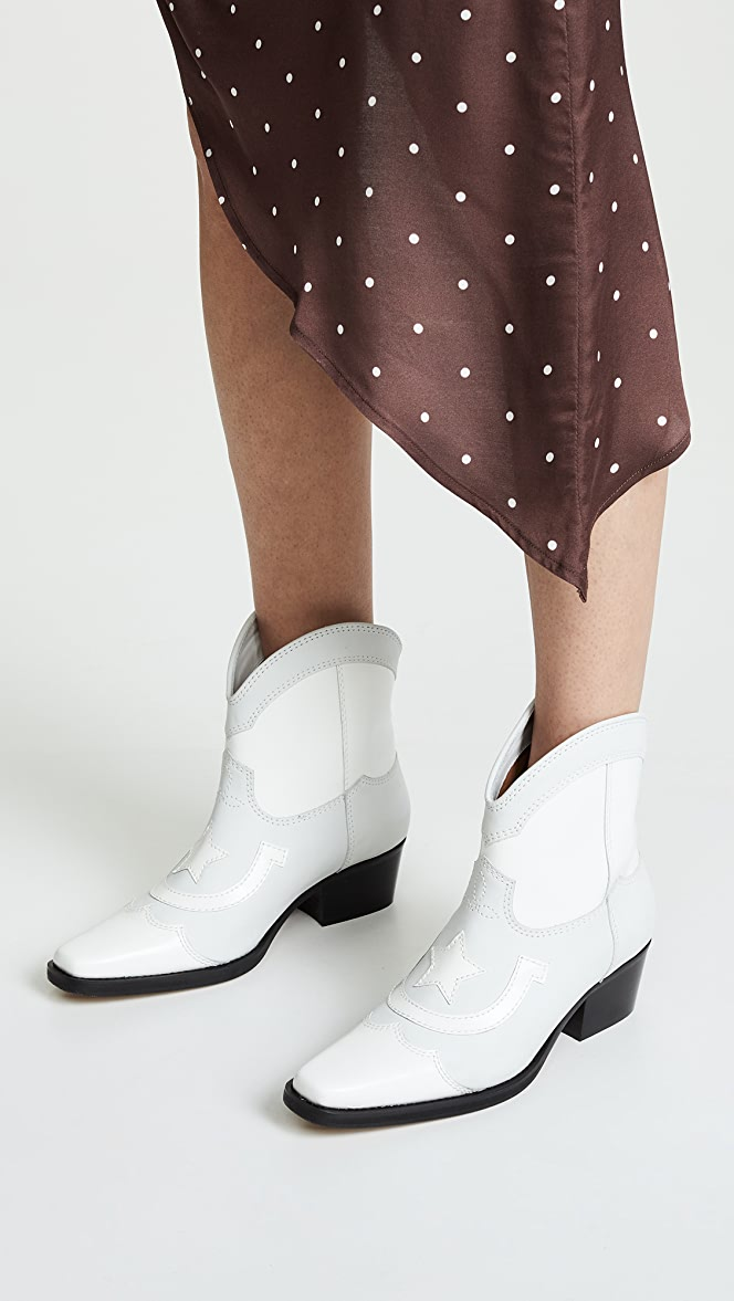 GANNI Low Texas Boots   SHOPBOP
