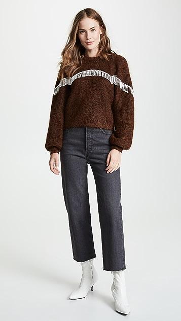 GANNI Heavy Soft Wool Knit