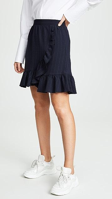 7d1ae1e872 GANNI Heavy Crepe Skirt | SHOPBOP