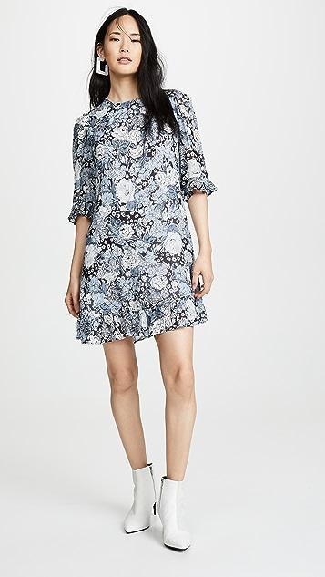 6fa360380f GANNI Printed Georgette Dress | SHOPBOP