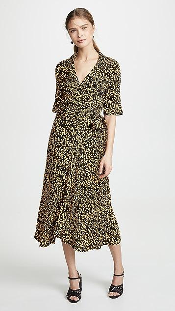 0bbcc884f390e GANNI Printed Crepe Dress   SHOPBOP