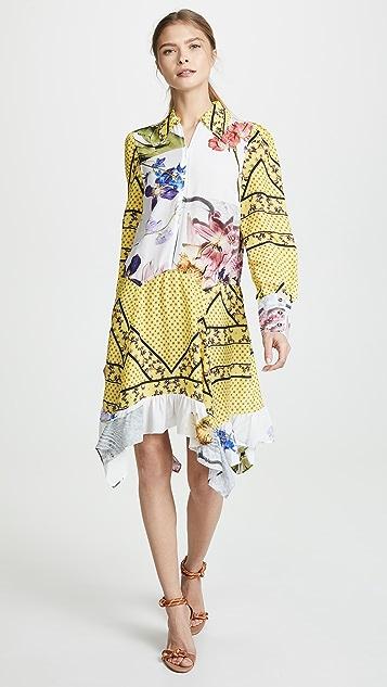 ec8b1b633 GANNI Silk Mix Dress | SHOPBOP