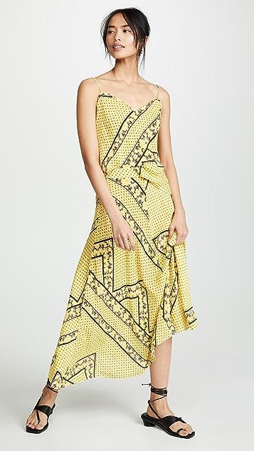 GANNI Шелковая юбка Mix