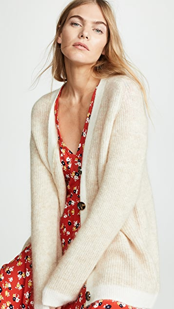 Ganni Knits Soft Wool Knit Sweater