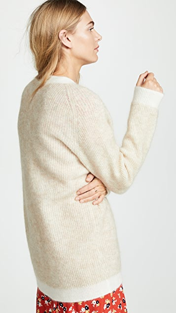 GANNI Soft Wool Knit Sweater