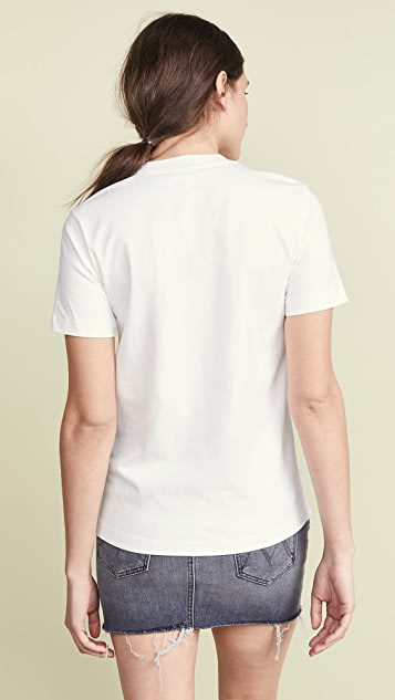 GANNI Light Cotton Jersey Tee