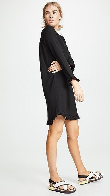 GANNI Heavy Crepe Dress
