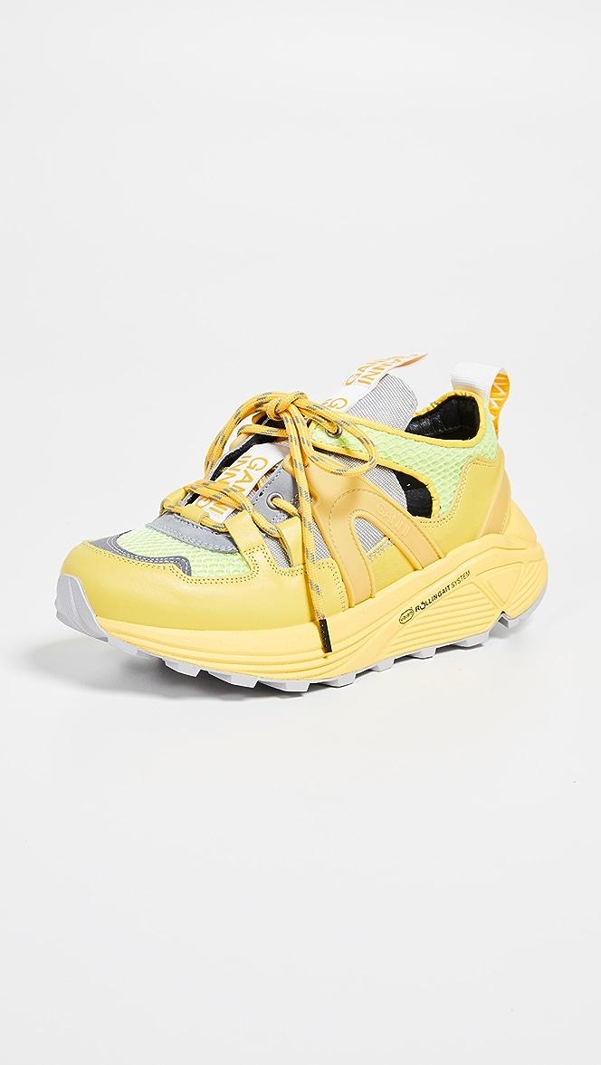 GANNI Tech Low Sneakers | SHOPBOP