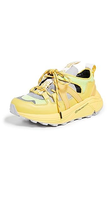 GANNI Tech Low Sneakers