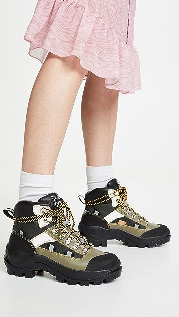GANNI Трекинговые ботинки