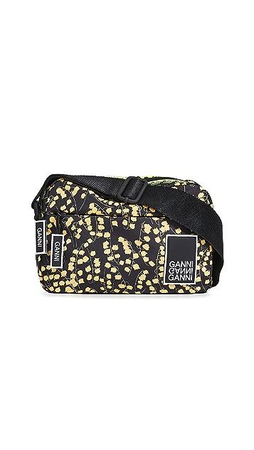 GANNI Tech Fabric Crossbody Bag