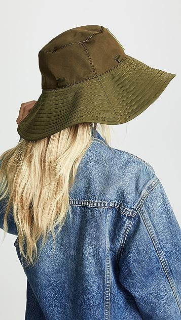 Ganni Hats Tech Fabric Hat