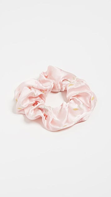 GANNI Satin Scrunchie
