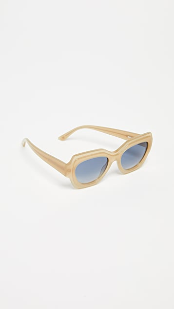 GANNI Square Sunglasses