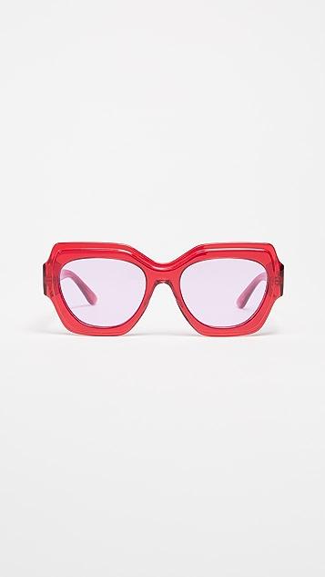GANNI Square Sunglasses