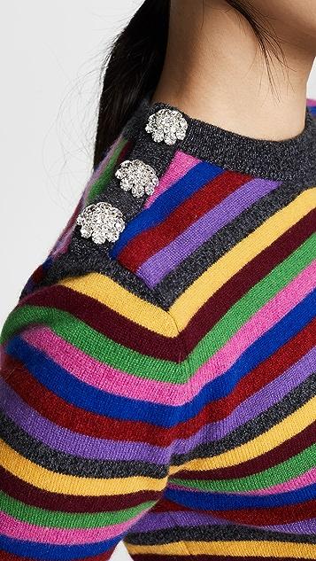 GANNI Кашемировый свитер