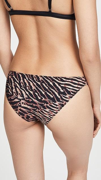 GANNI Tiger Bikini Bottoms