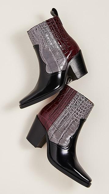 GANNI 西部风情靴子