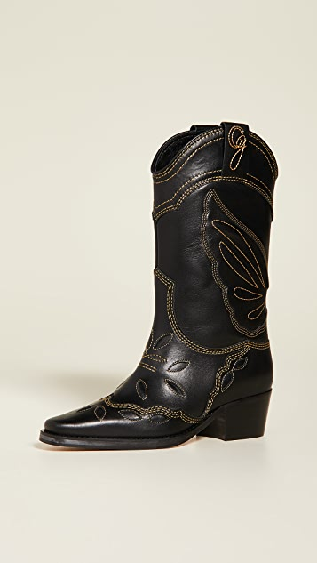 GANNI High Texas Boots