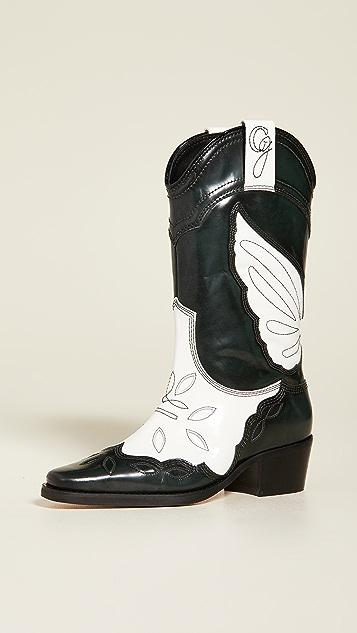 GANNI High Texas Boots