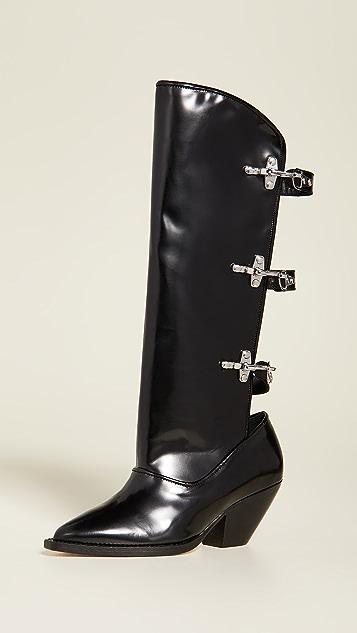 GANNI Open Shaft Boots