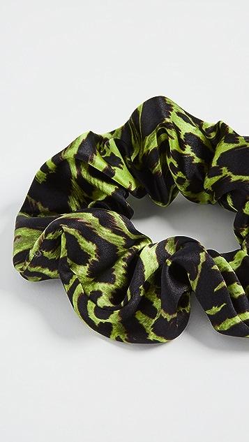GANNI Silk Scrunchie