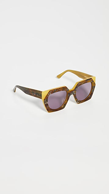 GANNI Double Layered Sunglasses
