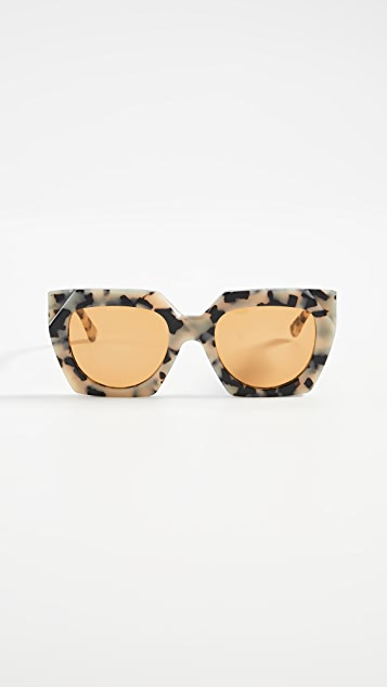 GANNI Double Layered Sunglasses