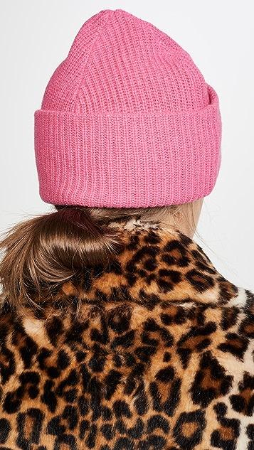 GANNI Knit Beanie Hat