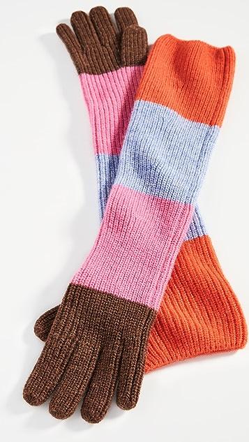 GANNI Knit Gloves