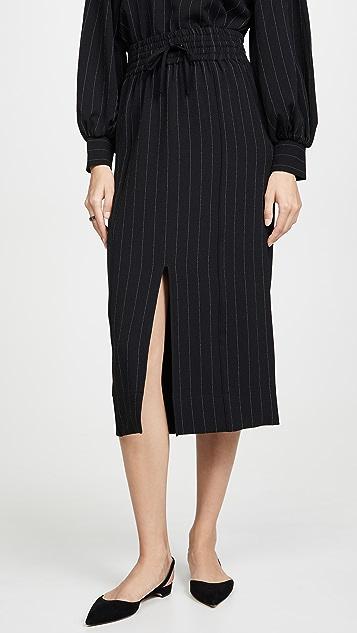 GANNI Crepe Skirt