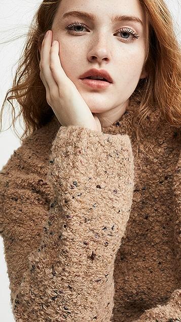 GANNI Вязаный свитер с неровной текстурой
