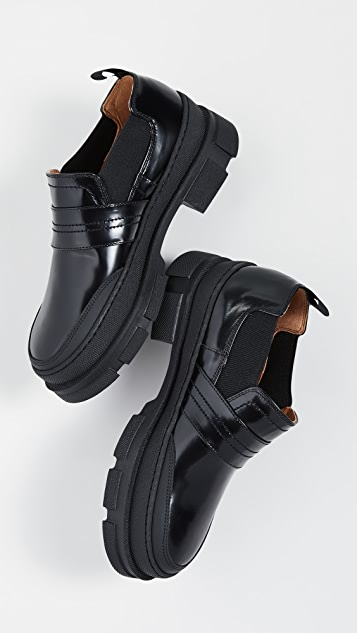 GANNI Bootie Loafers