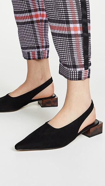 GANNI Low Heel Flats