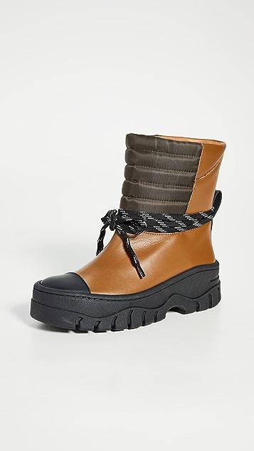 GANNI Biker Boots