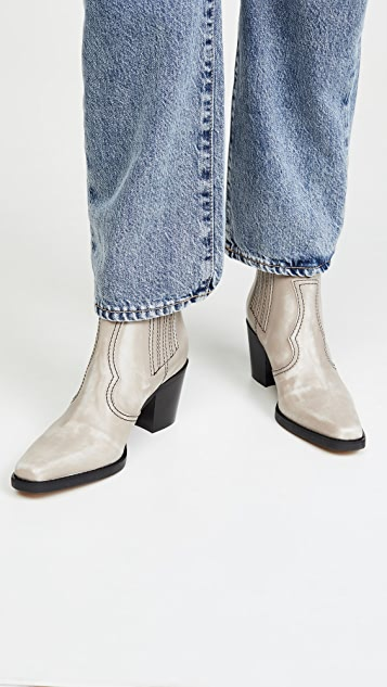 GANNI Western Booties