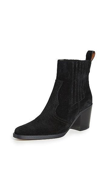 GANNI 西部风情短靴