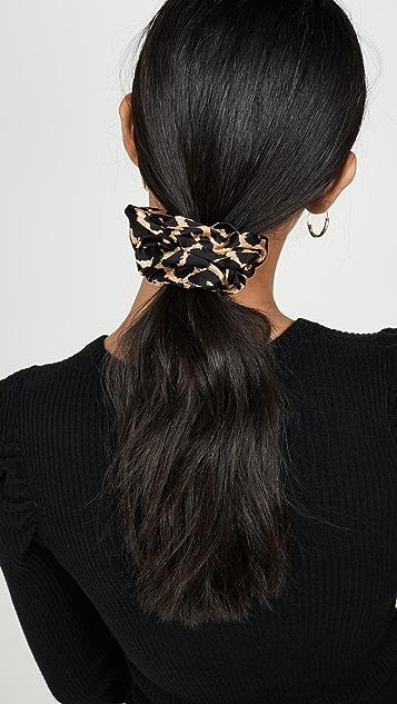 GANNI Шелковая резинка для волос