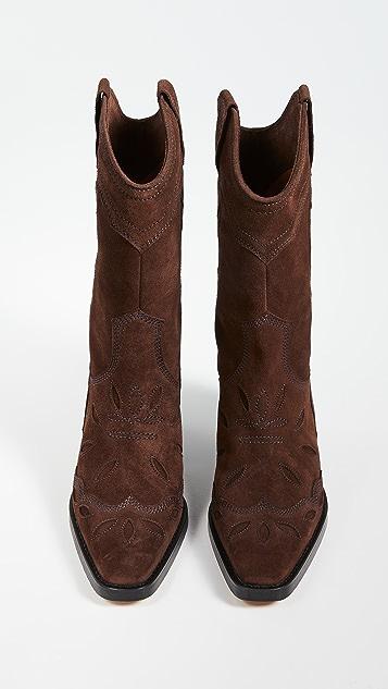GANNI High Western Boots