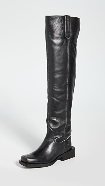GANNI MC Knee Boots